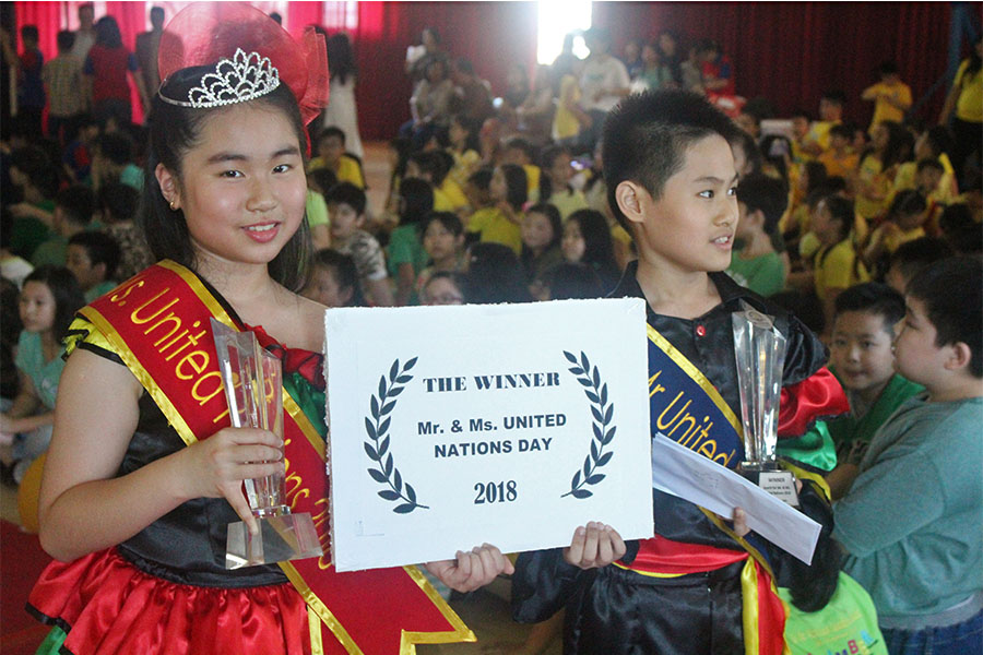Elyon Christian School Search for Mr and Ms United Nations