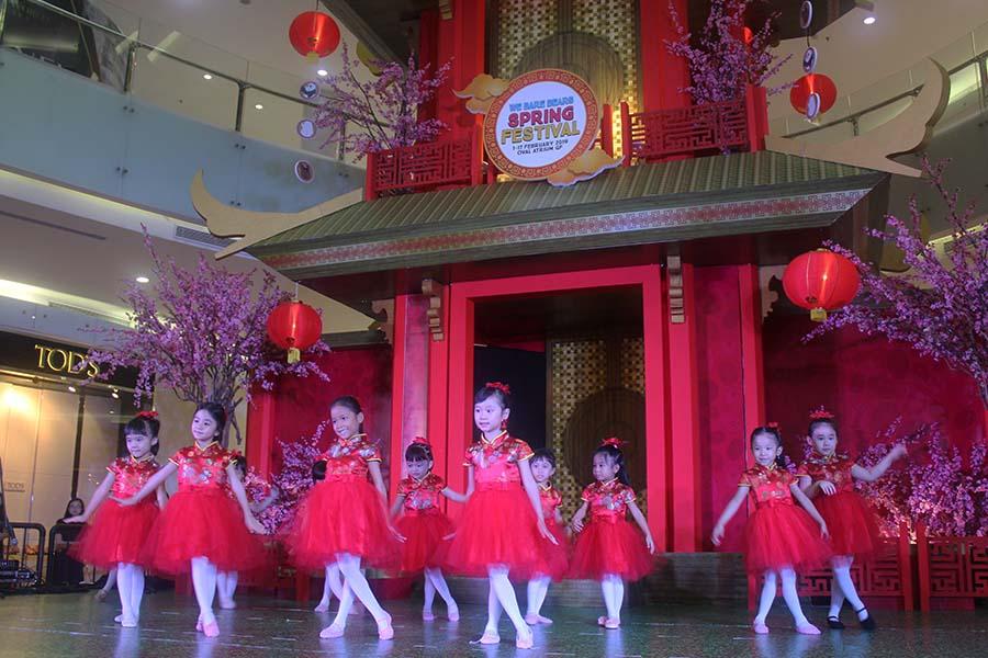 Spring Festival at Ciputra World